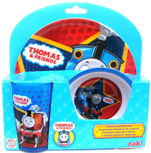 Thomas & Friends 3 Piece Mealtime Set (Bowl, Plate and Tumbler)