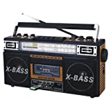 QFX J-22U 4-Band Radio Cassette to MP3 Converter Recorder Player USB/SD/MP3 Electronic Accessories