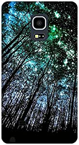 The Racoon Lean Night Full of Stars hard plastic printed back case / cover for Samsung Galaxy Note Edge