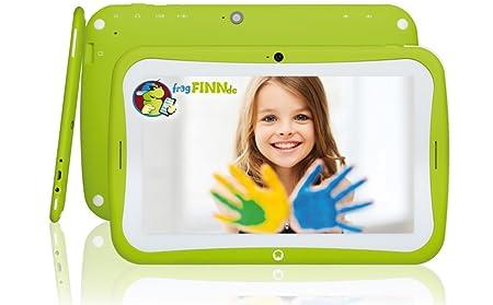 Tablette Android 7 pouces Blaupunkt 4 kids - 8 Go - WiFi - vert, bleu, rose