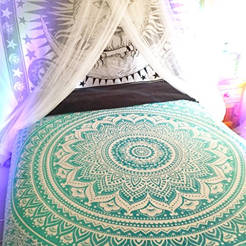 Mandala Tapestries, Hippy Hippie Wall Hanging, Wall Tapestries , Indian Mandala Tapestries, Bohemian Tapestry, Sofa Cover, Beach Blanket, Dorm Decor Wall Art Ombre Mandala Tapestries