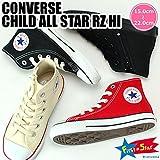 [コンバース] CONVERSE CHILD ALL STAR RZ HI チャイルド オールスター RZ HI 子供靴 キッズ スニーカーブラックモノクローム19.0cm