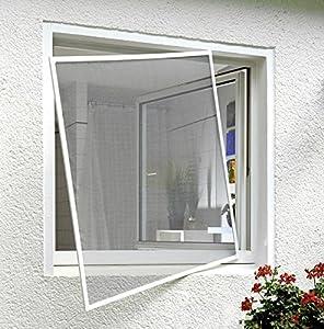 Xclou zanzariera per finestra telaio in alluminio 345519 fai da te - Zanzariera finestra fai da te ...