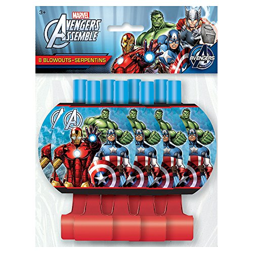 Marvel's Avengers Party Blowouts [8 Per Package]