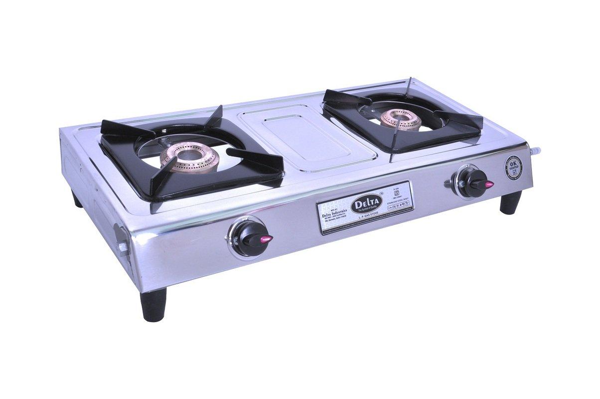 Delta 4949 Stainless Steel 2 Burner Gas Cookt..