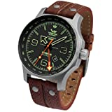 Vostok Europe Expedition North Pole 1 Dual Time 515.24H/595A501 (Color: brown)