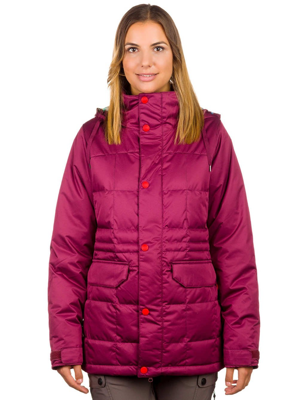 Womens Ayers Down Jacket sangria