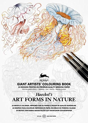 art-forms-in-nature-haeckel-giant-artists-colouring-book-giant-artists-colouring-books