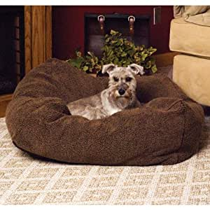 K&H Manufacturing Cuddle Cube Small Mocha 24-Inch by 24-Inch