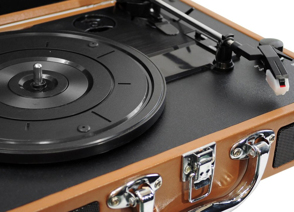 PYLE-HOME PVTT2UWD Retro Belt-Drive Turntable with USB-to-PC Connection 2