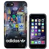 TeamS(チームエス) adidas アディダス iPhone7 ケース ブランド ハード スマホケース アイホン7 ケース street ストリート 「当店オリジナルフィルム付き」 [並行輸入品]