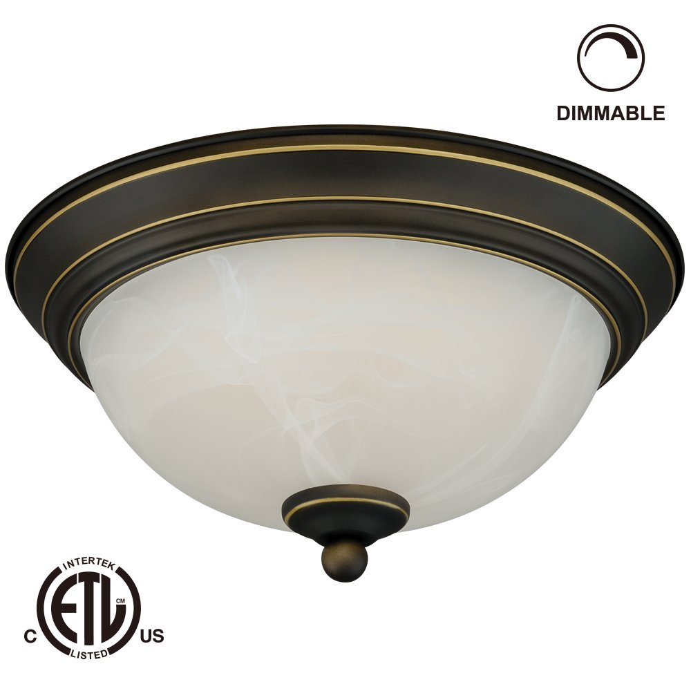 12w 11 inch led flush mount ceiling light dimmable led ceiling light fixtures. Black Bedroom Furniture Sets. Home Design Ideas