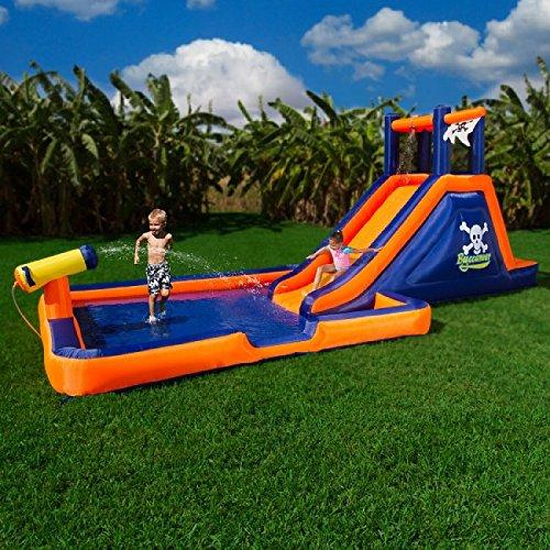 Blast Zone Buccaneer Inflatable Water Park