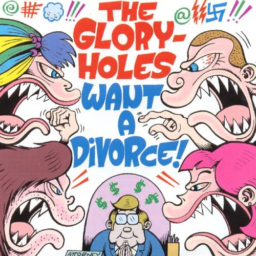 Original album cover of Want a Divorce by The Gloryholes
