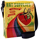 BlueQ Art Supplies Messenger Bag