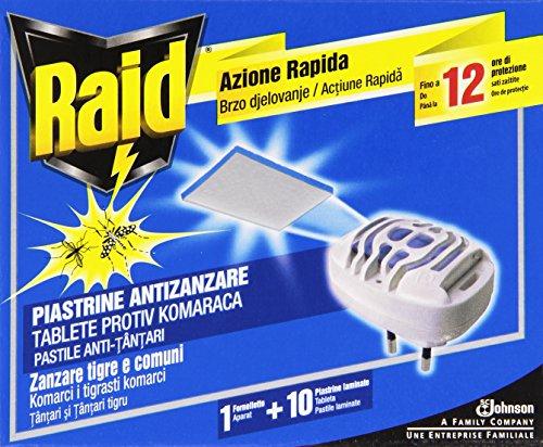 raid-piastrine-zanzare-base-10-pezzi