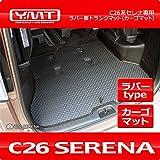YMT C26系セレナ ラバー製ラゲッジマット(カーゴマット) -