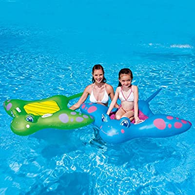 Bestway Manta Ray Ride On Pool Float - Multicoloured