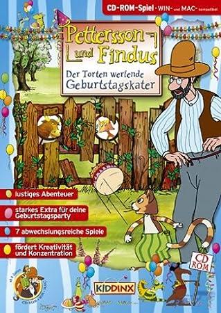Pettersson & Findus - Torten werfende Geburtstagskater