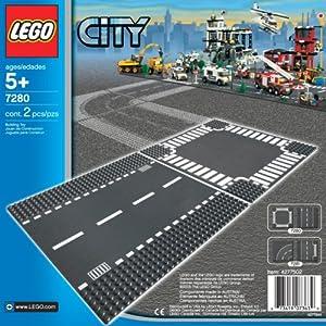 Lego City: Straight & Crossroad 7280