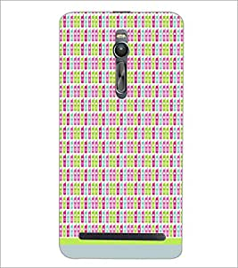 PrintDhaba Mobile Pattern D-1510 Back Case Cover for ASUS ZENFONE 2 (Multi-Coloured)