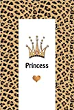 Changing Mat Crown Princess with Beige Leopard Print CPWLP01011