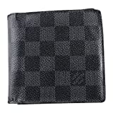 (ルイヴィトン)LOUIS VUITTON 新型カード4枚型 二つ折財布 グラフィット N62664
