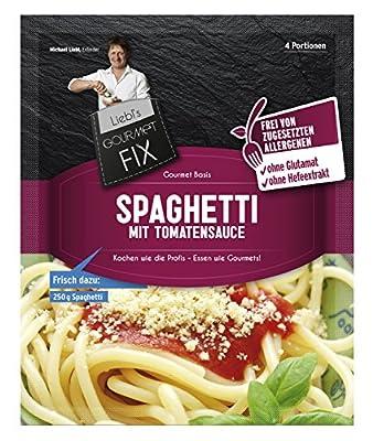 Gourmetfix Basis für Spaghetti mit Tomatensauce - 12er Pack 48 Portionen von Gourmetfix - Gewürze Shop