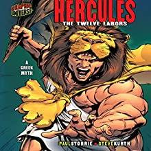 Hercules: The Twelve Labors [A Greek Myth] Audiobook by Paul D. Storrie Narrated by  Book Buddy Digital Media
