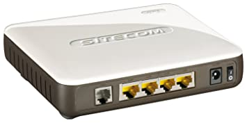 Sitecom Wireless Modem - Router (10, 100 Mbit/s, 150 Mbit/s, ADSL, Annex A, IEEE 802.11b, IEEE 802.11g, IEEE 802.3i, IEEE 802.3u, 128-bit WEP, 64-bit WEP, 802.1x RADIUS, WPA-AES, WPA-TKIP, WPA2) Gris