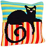 Collection dArt 40 x 40 cm Mr Handsome Cross Stitch Cushion Kit