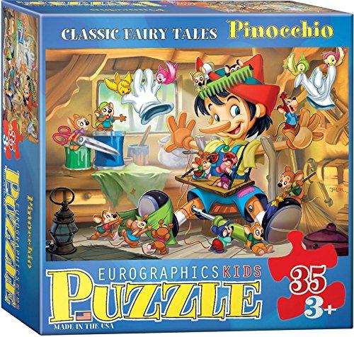 EuroGraphics 35-Piece Classicic Fairy Tales Pinocchio Puzzle (Pinocchio Nose Growing)