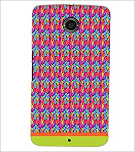PrintDhaba Mobile Pattern D-1507 Back Case Cover for MOTOROLA GOOGLE NEXUS 6 (Multi-Coloured)