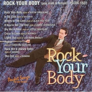 Rock  Body Justin Timberlake  on Cd Karaok   Rock Your Body   Justin Timberlake  50 Cent  Amazon Fr