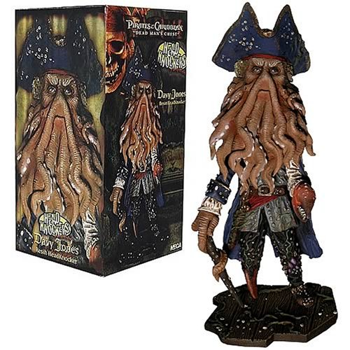 Pirates of the Caribbean Davy Jones Extreme Head Knocker - Buy Pirates of the Caribbean Davy Jones Extreme Head Knocker - Purchase Pirates of the Caribbean Davy Jones Extreme Head Knocker (NECA, Toys & Games,Categories,Action Figures,Statues Maquettes & Busts)