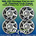 "16"" Dodge Caravan Replica Hub Caps Brand New Set"