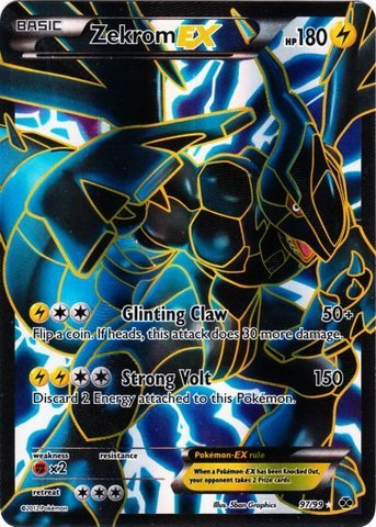 Pokemon - Zekrom-EX (97) - BW - Next Destinies - Holo