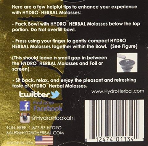 Hydro-Herbal-Mango-Hookah-Shisha-Tobacco-Free-Molasses-50g