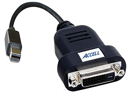 Accell B087B 006B UltraAV Mini DisplayPort to DVI D Single Link