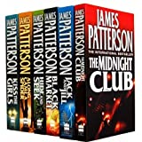 James Patterson Alex Cross Collection 6 Books Set Pack RRP: �43.94 (Alex Cross) (James Patterson Collection) (The Midnight Club, Along Came a Spider, Jack and Jill, Hide and Seek, Black Market, Kiss the Girls)by James Patterson