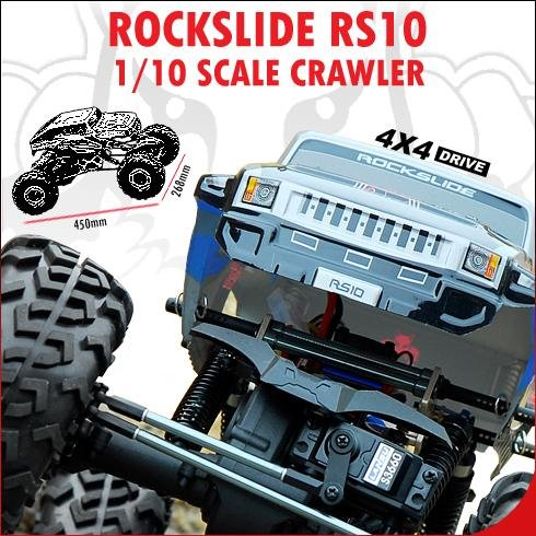 Redcat Racing Rockslide RS10 Crawler 1-10 Scale Electric
