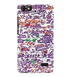 EPICCASE Abstract Art Mobile Back Case Cover For Xiaomi Redmi Mi4c (Designer Case)
