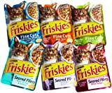 Friskies Cat Food Favorites, 6-Flavor Variety Pack, 3-Ounce Pouches (Pack of 24)