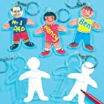 Design a Person Keyring Kits 8cm, to...