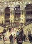 Dictionnaire de la musique en France
