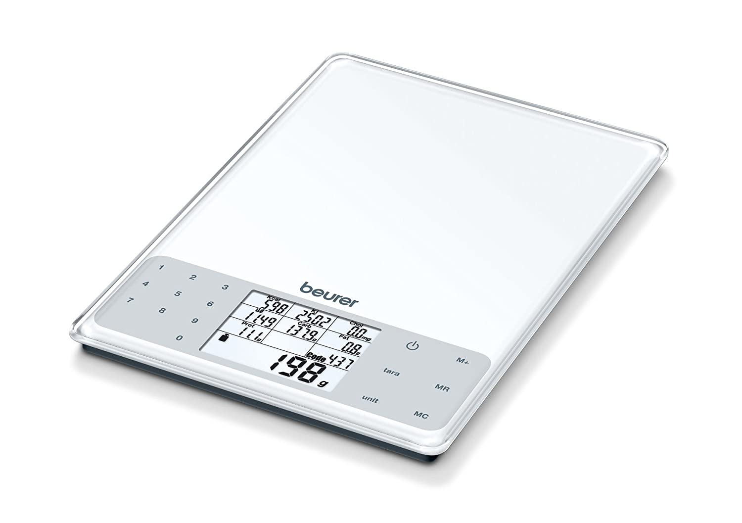 Beurer DS 61 Electronic Nutritional Analysis Scales