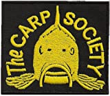 The Carp Society carphunter Karpfen angler Fischer fishing Weste Aufnäher