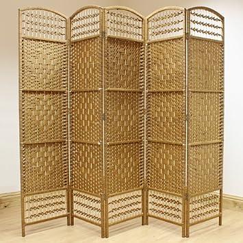 hartleys paravent artisanal 5 panneaux en osier naturel gbjfbghjhjgkk. Black Bedroom Furniture Sets. Home Design Ideas
