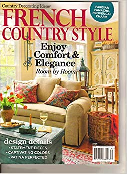 Country Decorating Ideas French Country Style 2015 W 9783598820960