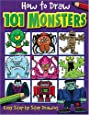 How to Draw 101 Monsters: Easy Step-by-step Drawing (How to draw)
